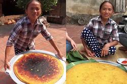 Làm bánh khoai khổng lồ nhưng bị đen một mảng lớn, bà Tân Vlog có cách 'chữa cháy' siêu hay