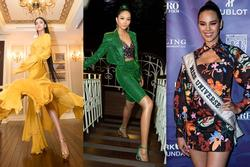 Bản tin Hoa hậu Hoàn vũ 25/11: Trương Thị May tung váy xuất thần, 'chặt' từ H'Hen Niê đến mỹ nữ quốc tế