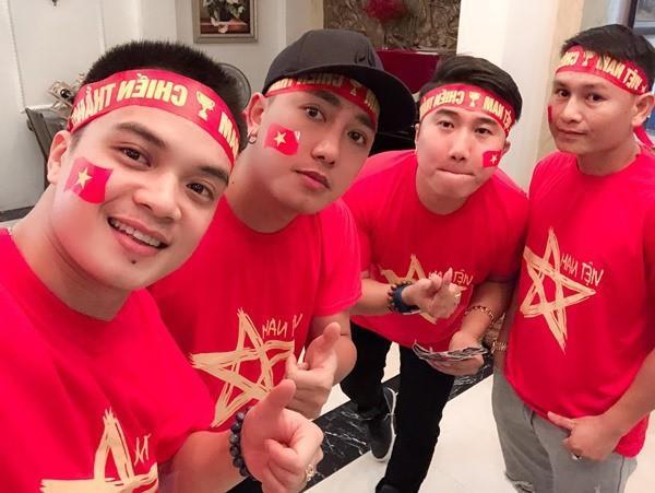 Nghệ sĩ hào hứng khi U22 Việt Nam thắng Brunei 6-0-1