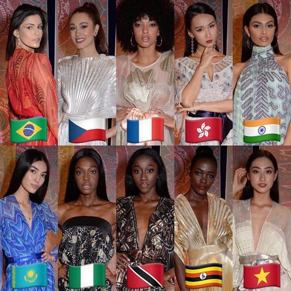 Vượt Lan Khuê lẫn Tiểu Vy, Lương Thùy Linh xuất sắc lọt top 10 Top Model tại Hoa hậu Thế giới 2019-3