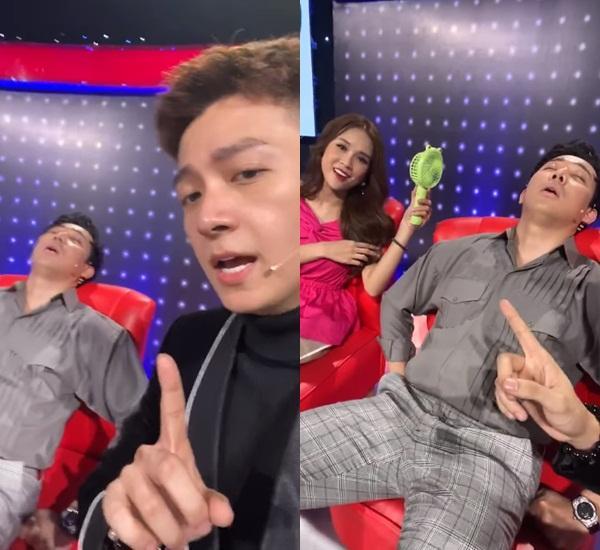 Đăng clip troll Trấn Thành ngủ gật, Ngô Kiến Huy không ngờ bị nghiệp quật quá nhanh-1