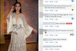 Dân mạng 'thấy mà tức' khi Lương Thùy Linh bị đăng ảnh 'dìm hàng' tại Miss World