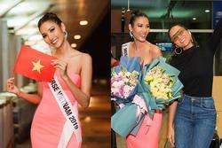 Tiễn Hoàng Thùy lên đường thi Miss Universe, H'Hen Niê ăn mặc siêu giản dị nhưng được khen vì lý do này!