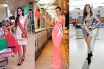 Thời trang sân bay của dàn mỹ nữ thi Miss Universe 2019: Hoàng Thùy sáng nhất phi trường ngay trong ngày đầu tụ hội