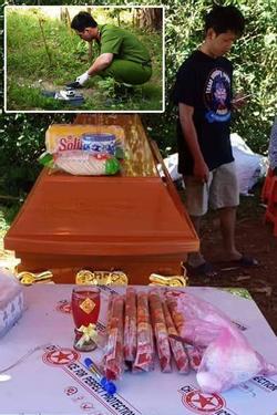 Kinh hoàng chồng đâm chết vợ đang mang thai rồi dìm xuống nước phi tang