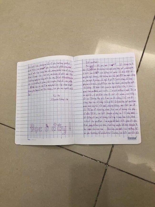 Xót xa lá thư tuyệt mệnh của bé gái 11 tuổi viết trước khi nhảy từ tầng 39 chung cư Goldmark: Mọi thứ tan vỡ rồi-3