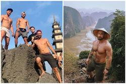 Cả loạt trai đẹp thi nhau cởi áo, khoe 6 múi ở 'Thánh địa sống ảo' nổi tiếng miền Bắc