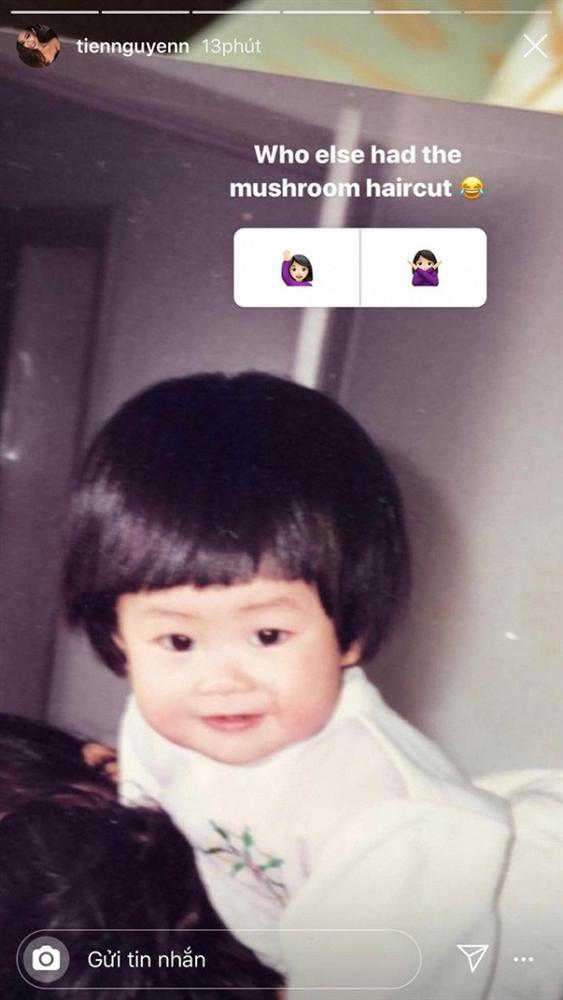 Tiên Nguyễn - em chồng Hà Tăng khoe ảnh hồi nhỏ xinh như búp bê-3
