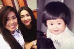 Tiên Nguyễn - em chồng Hà Tăng khoe ảnh hồi nhỏ xinh như búp bê