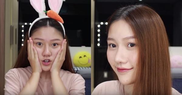 Em gái út kín tiếng của Trấn Thành khoe mặt mộc ăn đứt nhiều mỹ nhân Việt-1
