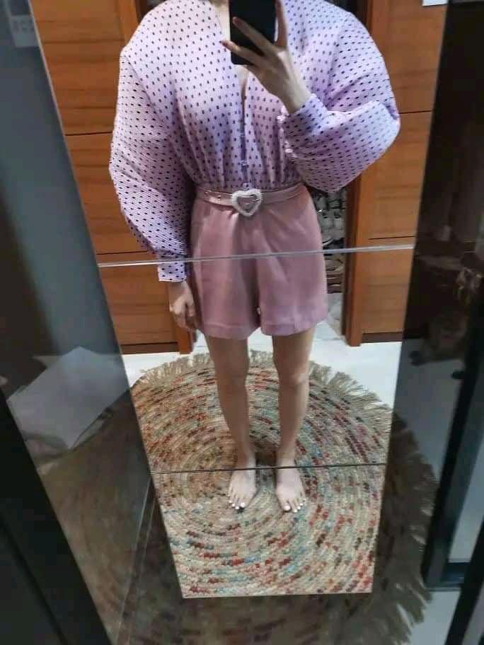 Ham hố giảm giá Black Friday, cô gái từ nàng thơ Hàn Quốc bỗng hóa võ sĩ lực điền vì chiếc áo chấm bi-3