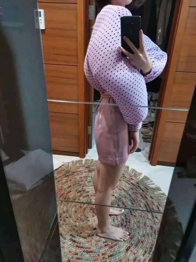 Ham hố giảm giá Black Friday, cô gái từ nàng thơ Hàn Quốc bỗng hóa võ sĩ lực điền vì chiếc áo chấm bi-5