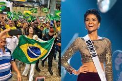 Giây phút chờ đợi nhất: Julia Horta lên đường thi Miss Universe 2019, H'Hen Niê cũng phát cuồng