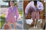 Ham hố giảm giá Black Friday, cô gái từ 'nàng thơ Hàn Quốc' bỗng hóa 'võ sĩ lực điền' vì chiếc áo chấm bi