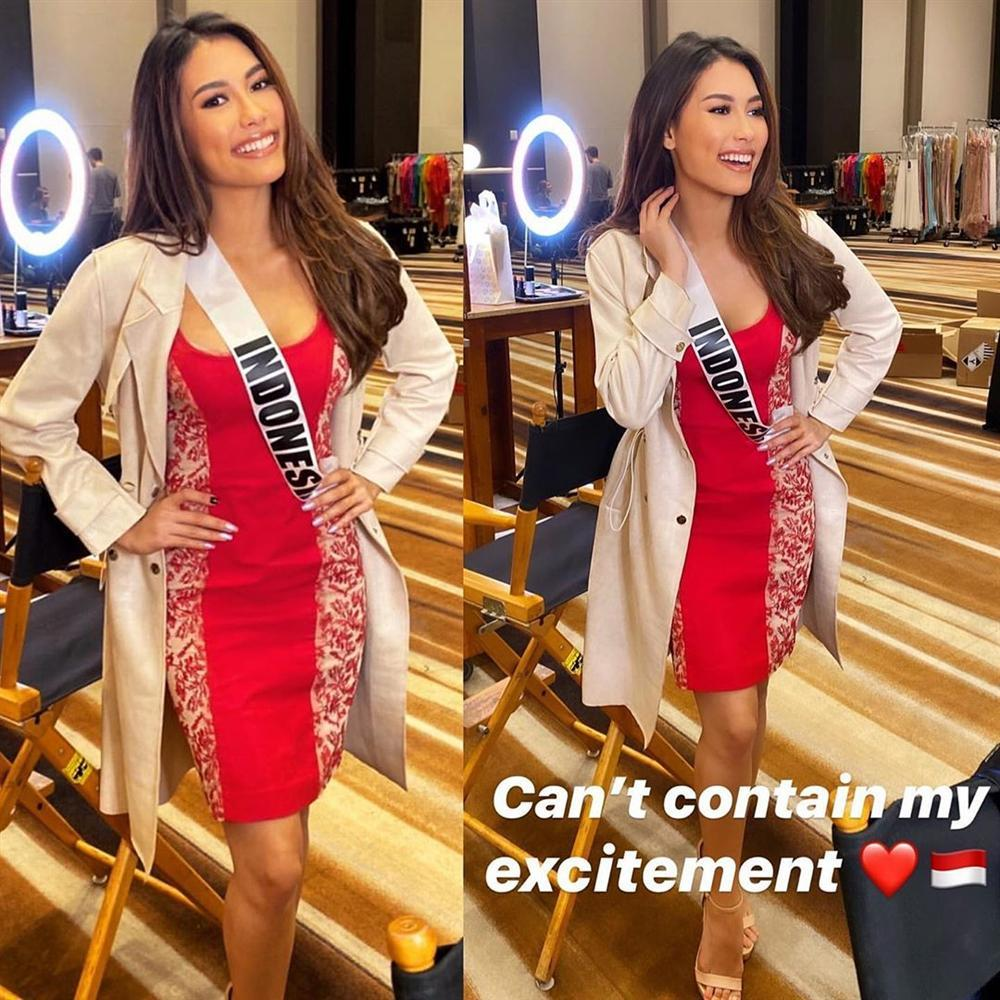 Ngày đầu tiên tại Miss Universe 2019: Hoàng Thùy hồng chói chang, Indonesia chiếm spotlight-6