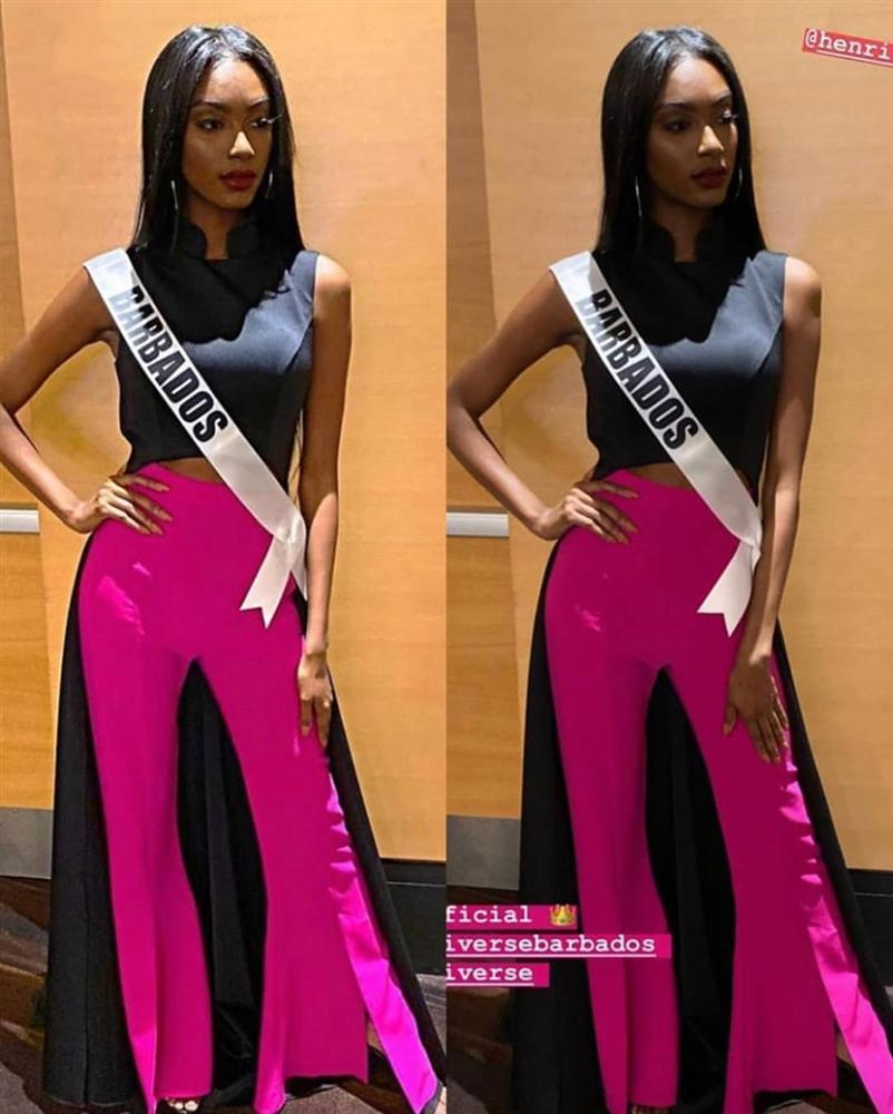 Ngày đầu tiên tại Miss Universe 2019: Hoàng Thùy hồng chói chang, Indonesia chiếm spotlight-14