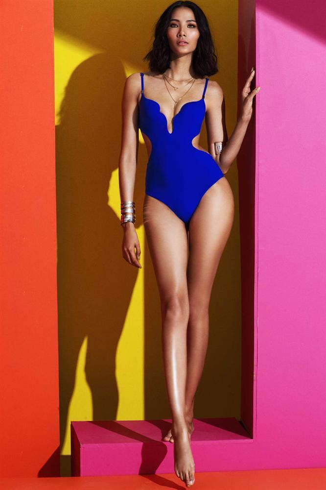 Lộ diện mẫu bikini ở Miss Universe, xanh neon được fan vote điên đảo cho Hoàng Thùy-6
