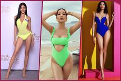 Lộ diện mẫu bikini ở Miss Universe, xanh neon được fan vote 'điên đảo' cho Hoàng Thùy