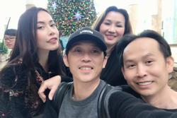 Hoài Linh quây quần bên gia đình tại Mỹ