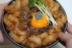 Cách người Nhật làm món cơm tôm tươi trộn trứng sống