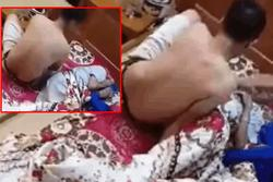 Clip: Sôi máu nhìn cảnh con trai lực lưỡng tát thẳng mặt bố đau ốm, nằm quặt quẹo trên giường