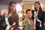 Ngày thứ hai tại Miss Universe 2019: Hoàng Thùy lộ vẻ nhợt nhạt, bị chê make-up không đẹp