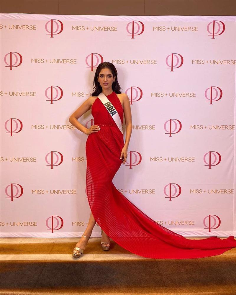 Miss Universe 2019 ngày thứ ba: Hoàng Thùy mặc đồ 2 trong 1, chặt đẹp chiều cao hoa hậu Venezuela-8