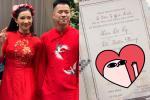 Lan truyền thiệp cưới được cho là của Huy DX và Lưu Đê Ly nhưng dân tình lại chỉ 'soi' sai chính tả
