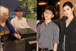 Hé lộ hình ảnh cậu em của Á hậu Huyền My: 16 tuổi đã cao 1m74, ngoại hình đẹp chuẩn soái ca