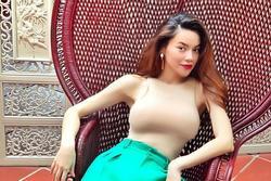 Hồ Ngọc Hà và dàn mỹ nhân Việt chuộng mốt trông như không mặc gì