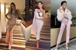 Bản tin Hoa hậu Hoàn vũ 1/12: Hoàng Thùy 'chặt đẹp' dàn đối thủ khi đụng trúng tông hồng