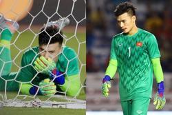 Thủ môn Bùi Tiến Dũng phản ứng 'căng đét' khi bị chỉ trích về sai lầm trong trận gặp Indonesia