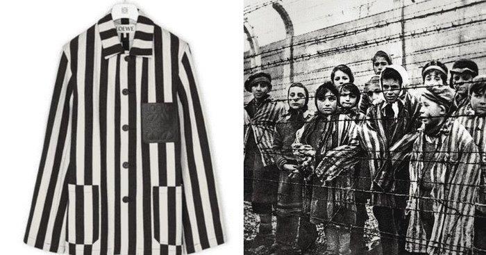 Nhà mốt cao cấp Loewe phải xin lỗi vì thiết kế giống đồng phục tù nhân-1