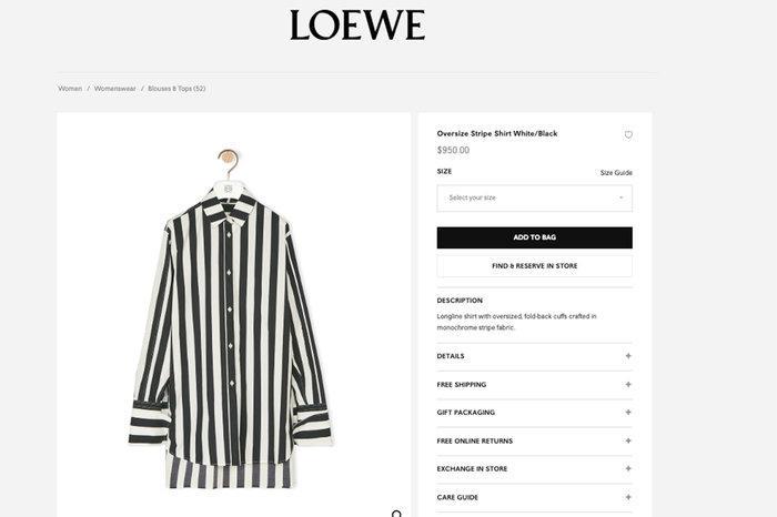Nhà mốt cao cấp Loewe phải xin lỗi vì thiết kế giống đồng phục tù nhân-3