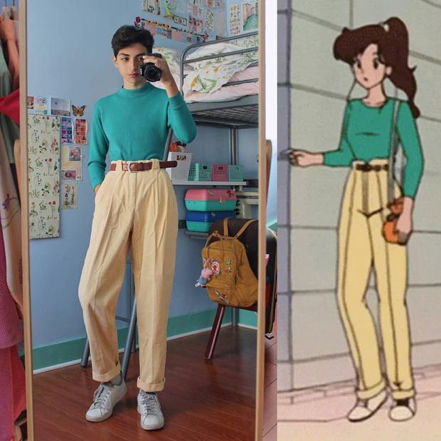 Lịm tim với thánh bán hàng online: Lên đồ đúng kiểu anime-4