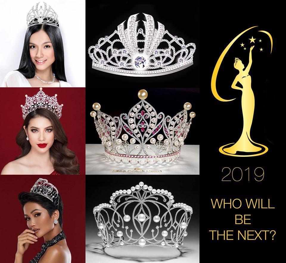Ngắm nhìn vương miện Hoa hậu Hoàn vũ Việt Nam qua các năm-9