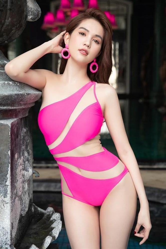 Mượn lại áo tắm của Ngọc Trinh mang đi du hí Maldives, Trang Trần mặc đẹp áp đảo nhờ chi tiết thú vị-4