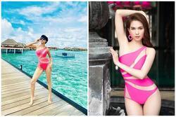 'Mượn lại' áo tắm của Ngọc Trinh mang đi du hí Maldives, Trang Trần mặc đẹp áp đảo nhờ chi tiết thú vị