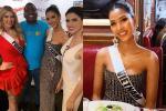 Miss Universe 2019 ngày thứ tư: Hoàng Thùy diện váy quây 'chanh sả', chờ mãi cũng đọ sắc Puerto Rico