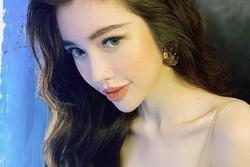 Elly Trần khoe nhan sắc xinh đẹp nhưng dân mạng chỉ tập trung vào vòng 1 sắp 'rơi' khỏi váy