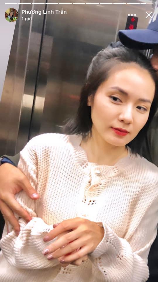 Phương Linh công khai thoát ế ở tuổi 35 bằng bức ảnh khóa môi bạn trai, dân mạng gọi tên Hà Anh Tuấn-2