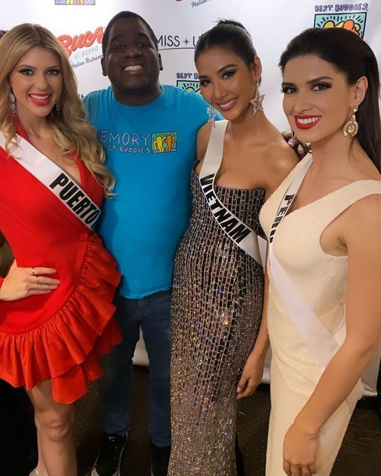 Miss Universe 2019 ngày thứ tư: Hoàng Thùy diện váy quây chanh sả, chờ mãi cũng đọ sắc Puerto Rico-2