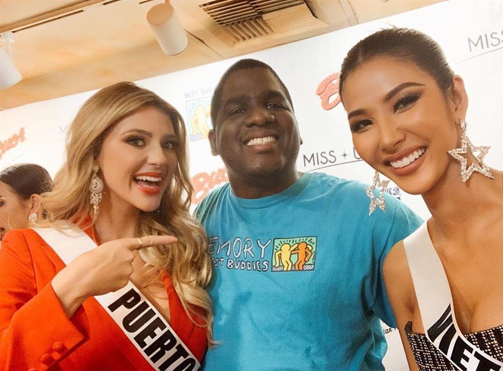 Miss Universe 2019 ngày thứ tư: Hoàng Thùy diện váy quây chanh sả, chờ mãi cũng đọ sắc Puerto Rico-3