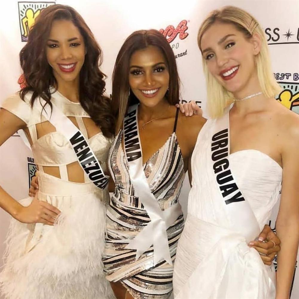 Miss Universe 2019 ngày thứ tư: Hoàng Thùy diện váy quây chanh sả, chờ mãi cũng đọ sắc Puerto Rico-9