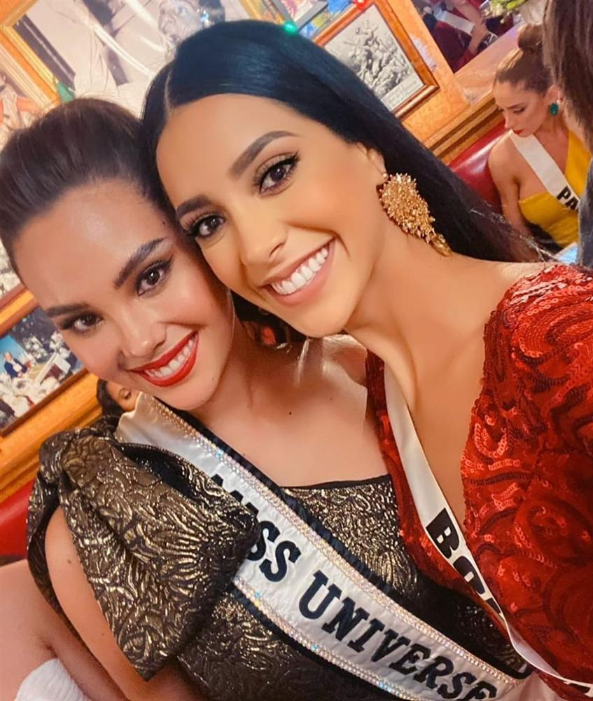 Miss Universe 2019 ngày thứ tư: Hoàng Thùy diện váy quây chanh sả, chờ mãi cũng đọ sắc Puerto Rico-10