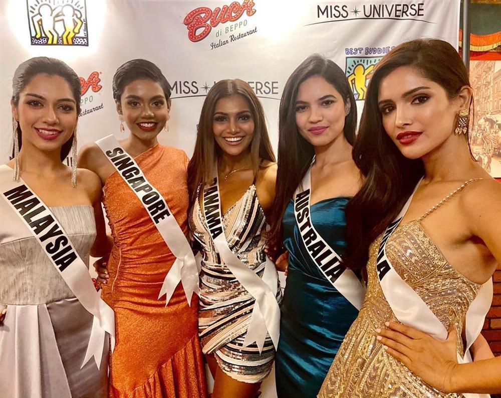 Miss Universe 2019 ngày thứ tư: Hoàng Thùy diện váy quây chanh sả, chờ mãi cũng đọ sắc Puerto Rico-16