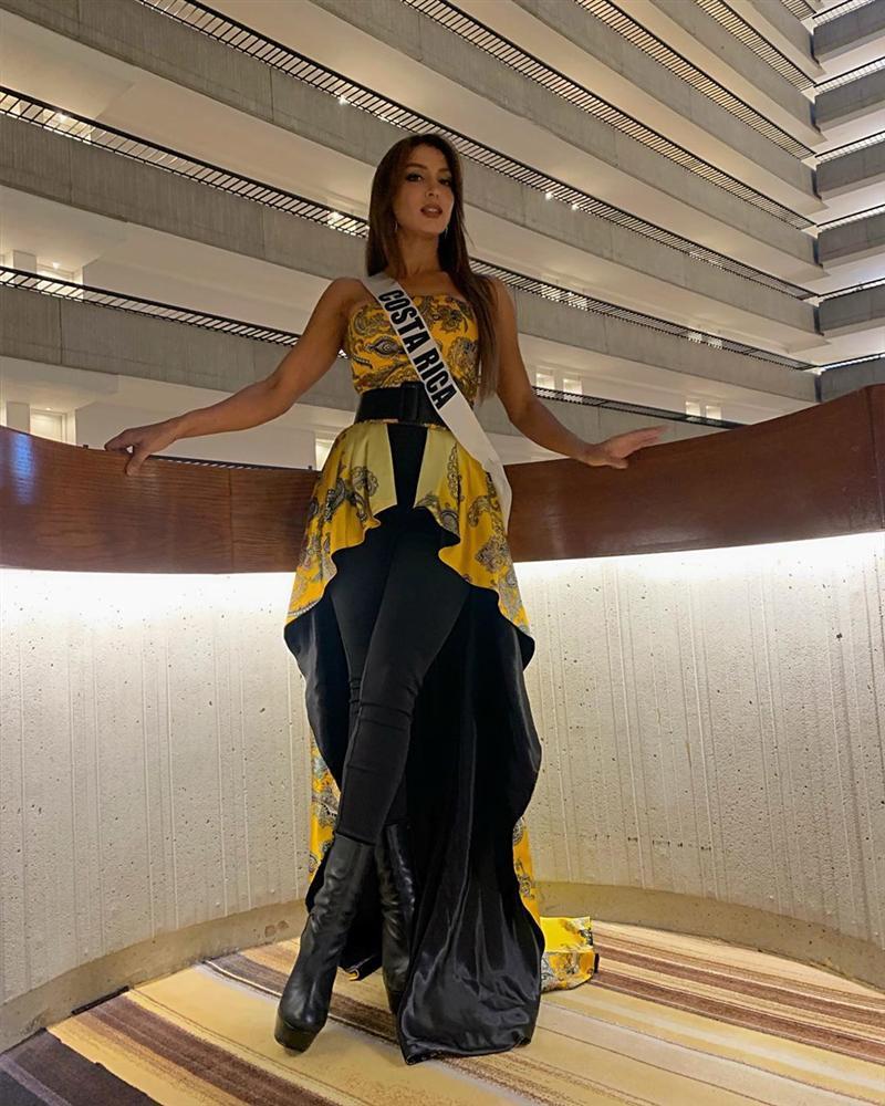 Miss Universe 2019 ngày thứ tư: Hoàng Thùy diện váy quây chanh sả, chờ mãi cũng đọ sắc Puerto Rico-17