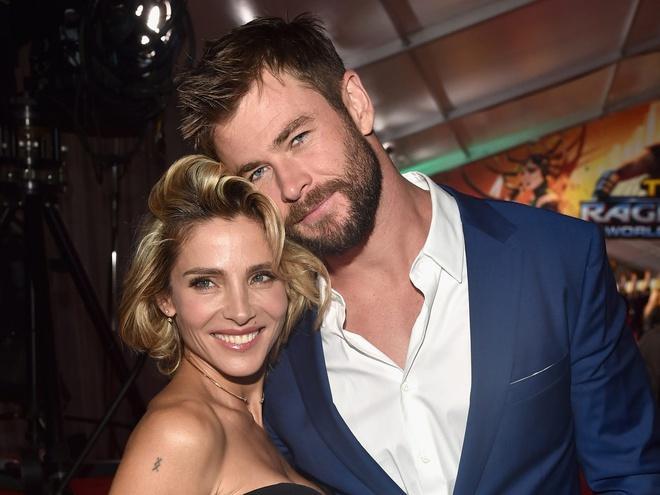 Chris Hemsworth bị vợ mắng vì đặt búa của Thor ở giữa nhà-1