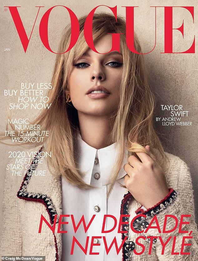 Taylor Swift trông khác lạ, diện toàn hàng hiệu trên tạp chí-1