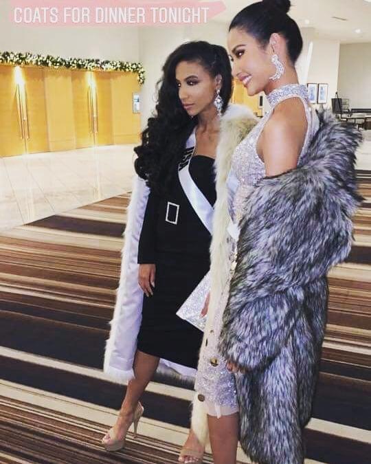 Miss Universe 2019 ngày thứ năm: Hoàng Thùy lên đồ kín đáo, dàn đối thủ ra sức lồng lộn-3